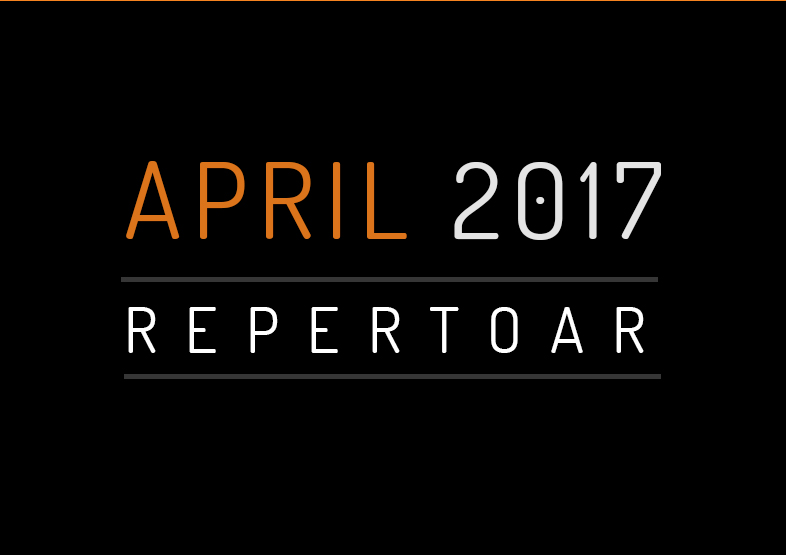 Repertoar za APRIL 2017