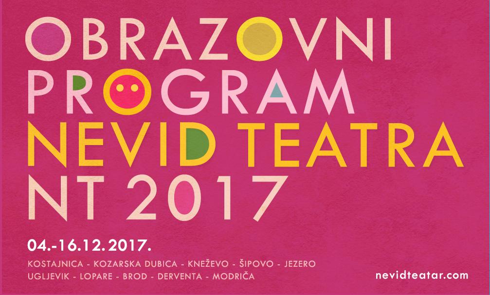 """Jedinstveni obrazovni program Nevid teatra kreće na turneju: PREMIJERA """"Čudesnih kontinenata"""" u Kostajnici 4. decembra"""