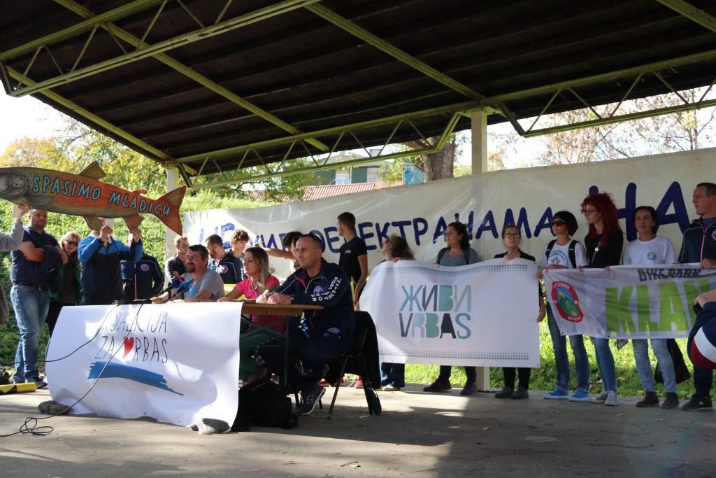 Koalicija za Vrbas predstavila razloge zbog kojih je protiv hidroelektrane na Vrbasu