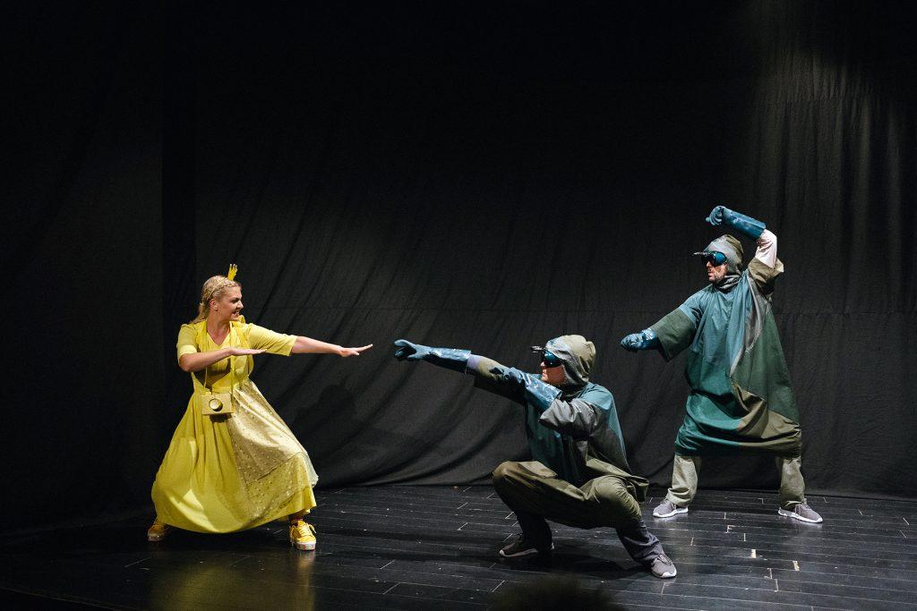 Predstava Nevid teatra PRINCEZA ZLATKA U KRALJEVSTVU BOJA u decembru na sceni Doma omladine u Banjaluci